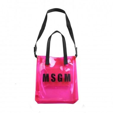 MSGM Girls pvc fuchsia bag by MSGM Kids 01860019msgm19