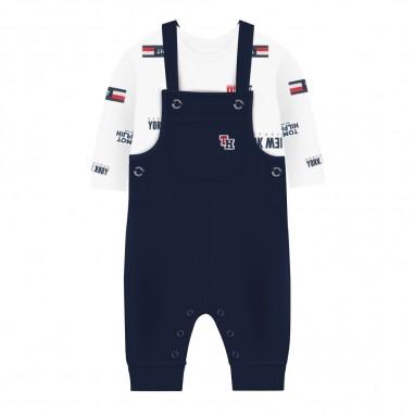 Tommy Hilfiger Kids Salopette & t-shirt neonato by Tommy Hilfiger Junior KN0KN01052-to29