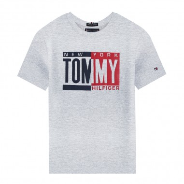 Tommy Hilfiger Kids T-shirt grigia bambino by Tommy Hilfiger Junior KB0KB04994-to29
