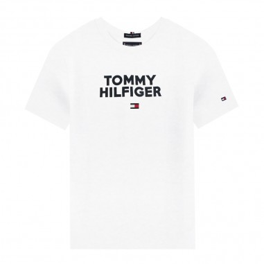Tommy Hilfiger Kids T-shirt logo bambino by Tommy Hilfiger Junior KB0KB04992-to29