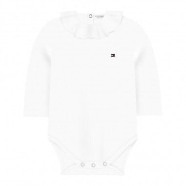 Tommy Hilfiger Kids Body bianco neonata by Tommy Hilfiger Junior KN0KN01063-to29