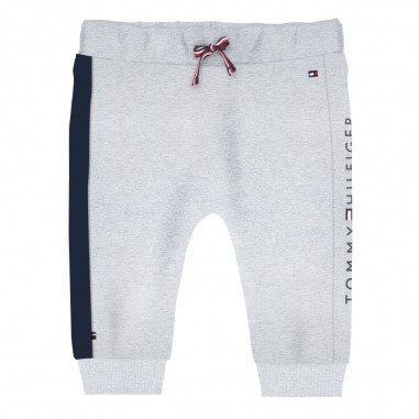 Tommy Hilfiger Kids Pantalone tuta grigio neonato by Tommy Hilfiger Junior KN0KN01018-to29