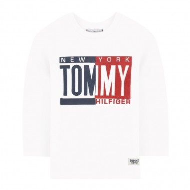 Tommy Hilfiger Kids T-shirt logo neonato by Tommy Hilfiger Junior KN0KN01030-to29