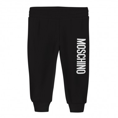 Moschino Kids Pantalone tuta nero neonati by Moschino Kids mup035-lda1460100mosch29