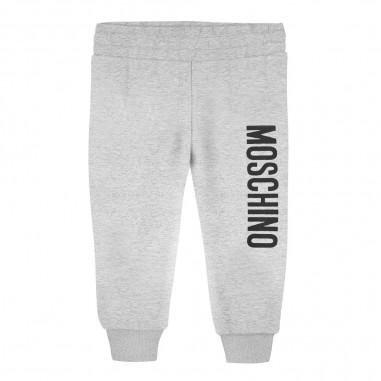Moschino Kids Pantalone tuta grigio neonati by Moschino Kids mup035-lda1460901mosch29