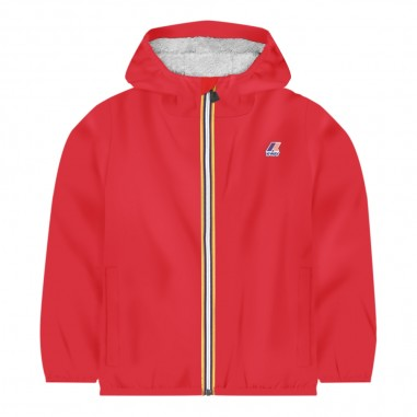 K-Way Impermeabile rosso neonati le vrai 3.0 claudine by K-Way Kids k006cq0-k08kway29