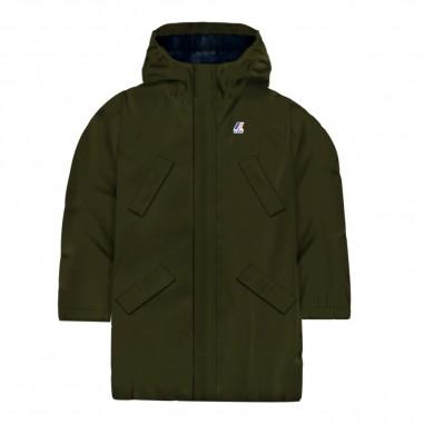 dfd7becedc2 Boys green waterproof jacket remi ripstop marmotta by K-Way Kids