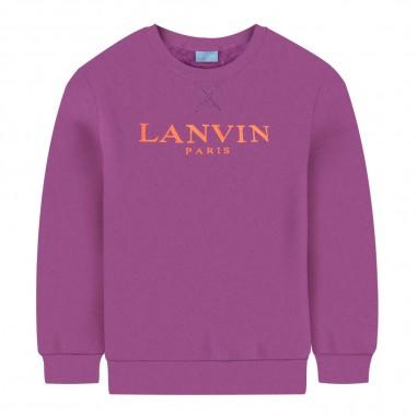 Lanvin Kids Felpa viola per bambino by Lanvin Junior 4L4090-LX080518lanvin29