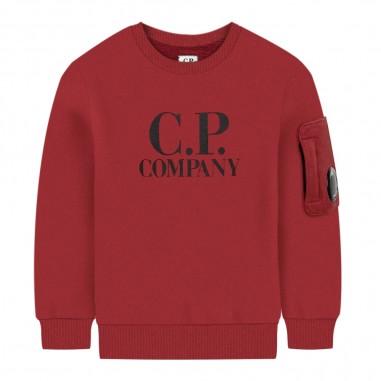C.P. Company Kids Felpa rossa bambino by CP Company Kids ss001a003878w576-cpcompany29