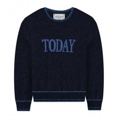 Alberta Ferretti Junior Maglia blu today per bambina by Alberta Ferretti Kids 020318-060albertaferretti29