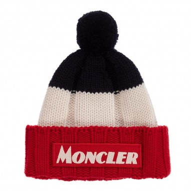 Moncler Blue harmony corporate hat by Moncler Junior 9549922-600a9156778moncler29
