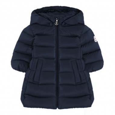 Moncler Blue majeure baby girls down jacket by Moncler Kids 9514937-20553048778moncler29
