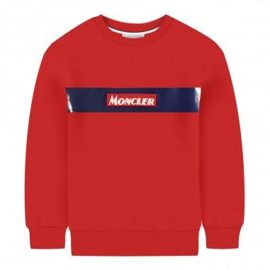 Moncler Felpa rossa bambini by Moncler Kids 9548026-750v8087455moncler29
