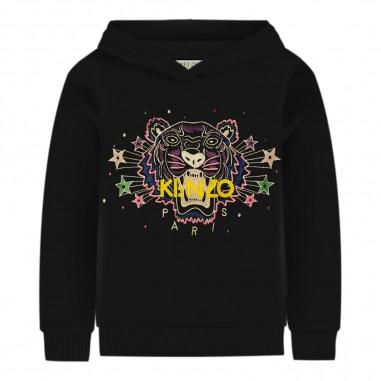 Kenzo Felpa nera tiger per bambina by Kenzo Kids kp15138-02kenzo29