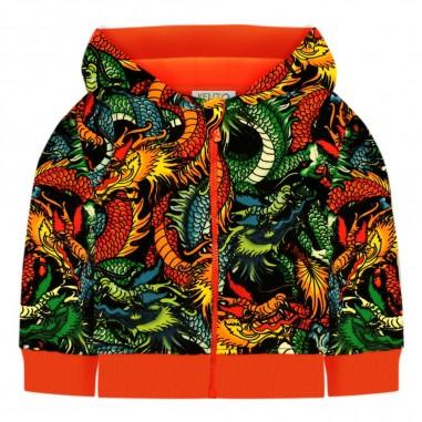 Kenzo Felpa aperta per bimbo dragone giapponese by Kenzo Kids kp17517-02kenzo29