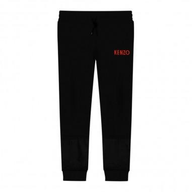 Kenzo Pantalone tuta nero bambino by Kenzo Kids kp23528-0202kenzo29
