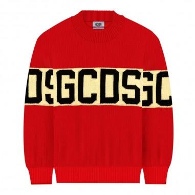GCDS mini Red sweater by GCDS Kids 020422-040gcds29