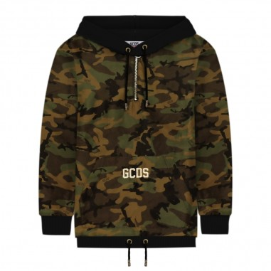 GCDS mini Giubbino camouflage per bambino by GCDS Kids 020462-590gcds29