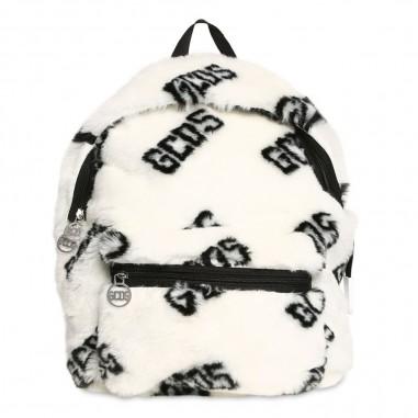 GCDS mini Zaino bianco pelliccia bambina by GCDS Kids 020515-002gcds29