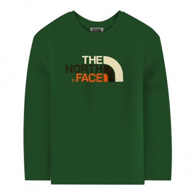 The North Face Kids T-shirt verde per bambini by The North Face Kids tct93s3bn3ptnf29