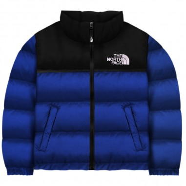 The North Face Kids Kids blue retro nuptse down jacket by The North Face tct93nojcz6tnf29