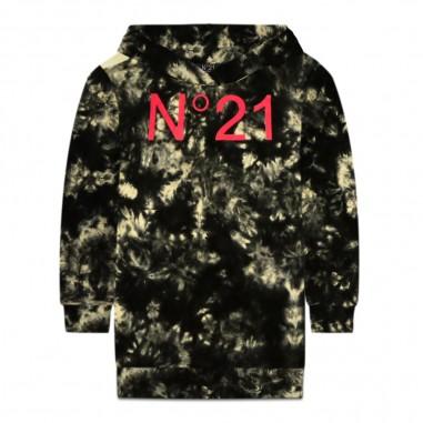 N.21 Kids Abito felpa tie dye bambina by N.21 Kids n2145y-n0045n21s25f0n100n2129