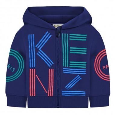 Kenzo Felpa aperta blu bimbo by Kenzo Kids kp17537-04kenzo29