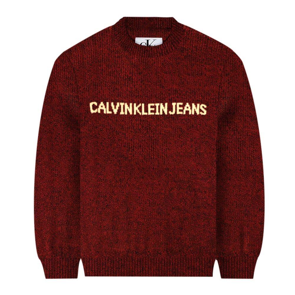nuovo arrivo genuino selezionare per lo spazio Maglione rosso bambino by Calvin Klein Junior