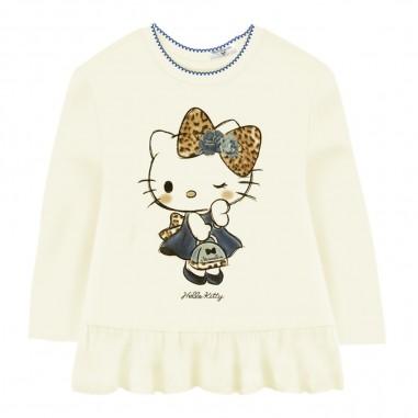 Monnalisa Maxi t-shirt hello kitty neonata by Monnalisa 314621pi-0156monnalisa29