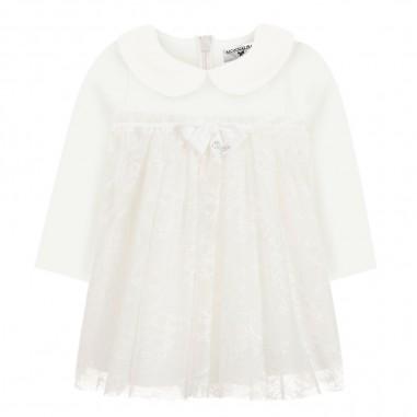 Monnalisa Cream baby girls lace dress by Monnalisa 734904-0001monnalisa29