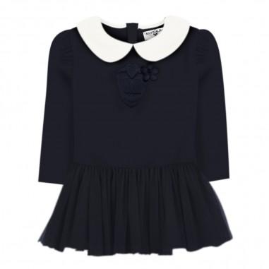 Monnalisa Baby girls blue tulle dress by Monnalisa 314926ab-056smonnalisa29
