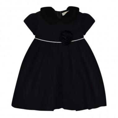 Monnalisa Blue baby girls duchesse dress by Monnalisa 734903-056smonnalisa29