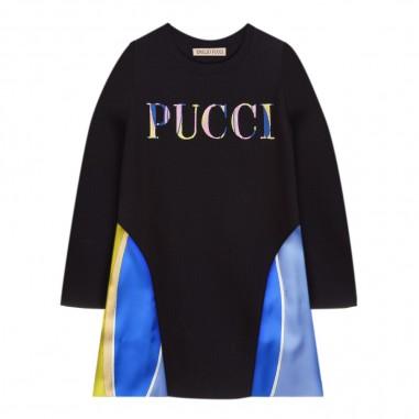Emilio Pucci Junior Abito blu per bambina by Emilio Pucci Kids 9L1370-LC980620pucci29