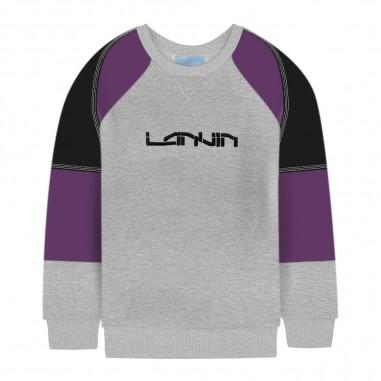 Lanvin Kids Felpa grigia per bambino by Lanvin Junior 4L4030-LX080904NElanvin29