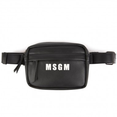 MSGM Borsello nero ecopelle bambina by MSGM Kids 20275-110msgm29