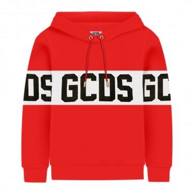 GCDS mini Felpa rossa per bambini by GCDS Kids 020418-040gcds29