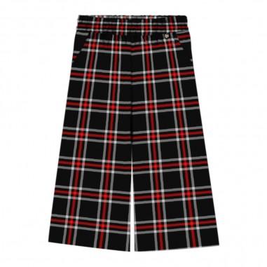 Kocca Pantalone largo scozzese per bambina ask-f1017kocca29