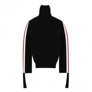 Kocca Maglia nera in lana per bambina dristi-00016kocca29