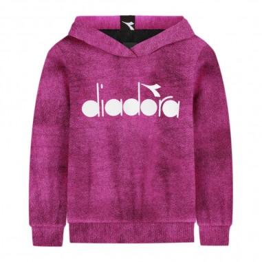 Diadora Felpa fucsia ciniglia per bambina by Diadora Kids 021507-044diadora29