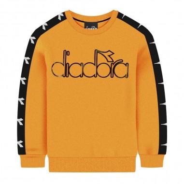 Diadora Felpa gialla per bambino by Diadora Kids 021342-022diadora29