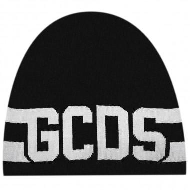 GCDS mini Cuffia nera bambini by GCDS Kids 021143-110gcds29