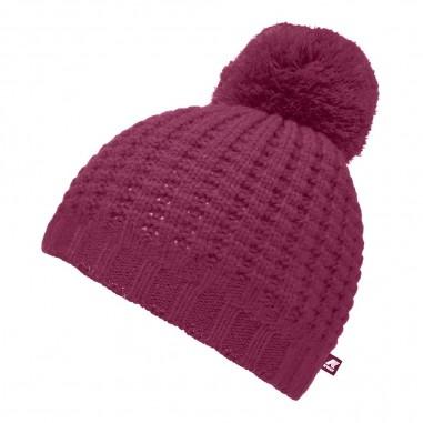 K-Way Unisex pompon beanie hat vincienne waffle stitch by K-Way Kids k00brj0-wp4kway29