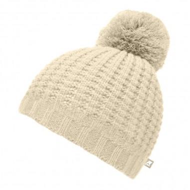 K-Way Unisex pompon hat vincienne waffle stitch by K-Way Kids k00brj0-b65kway29