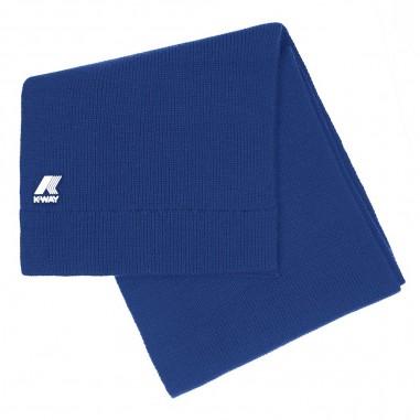 K-Way Unisex royal blue scarf etienne cardigan stitch by K-Way Kids k008k00-808kway29