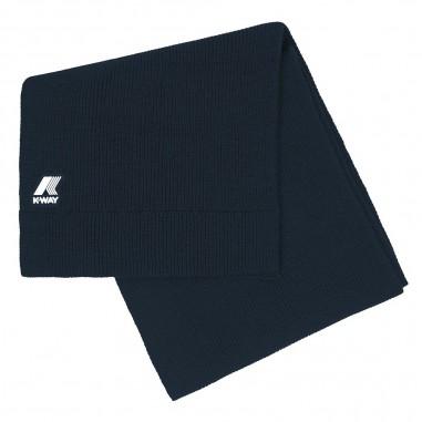 K-Way Unisex navy blue scarf etienne cardigan stitch by K-Way Kids k008k00-728kway29