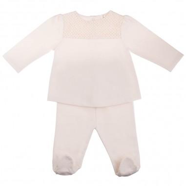 Natura Pura 2 piece fleece baby set BB20W-046-naturapura29