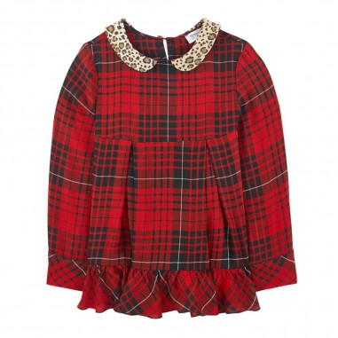 Monnalisa Casacca scozzese bambina by Monnalisa 114304-4350monnalisa29