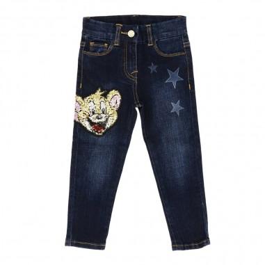 Monnalisa Jeans blu jerry bambina by Monnalisa 194412rj-0057monnalisa29