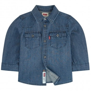 Levi's Camicia jeans neonati by Levi's Kids np12004-m2alevis29