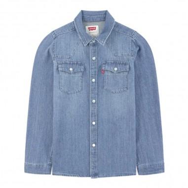 Levi's Boys vintage denim shirt - Levi's Kids np12007-m28levis29